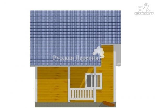 Фото 4: проект загородный дом с крылечком 1,5х2