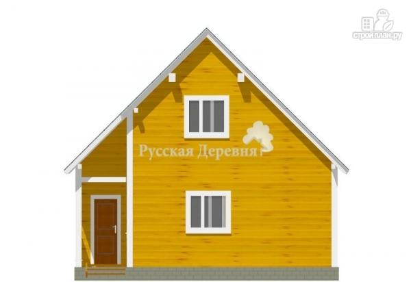 Фото 3: проект загородный дом с крылечком 1,5х2