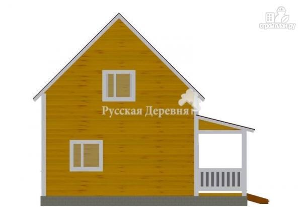 Фото 5: проект дом с террасой и эркером