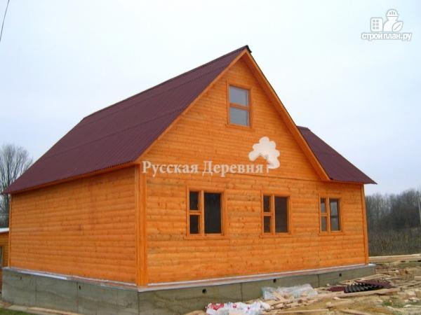 Фото 4: проект дом с крыльцом 2х2.5, мансарда