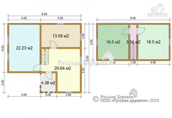 Фото 5: проект дом с крыльцом 2х2.5, мансарда