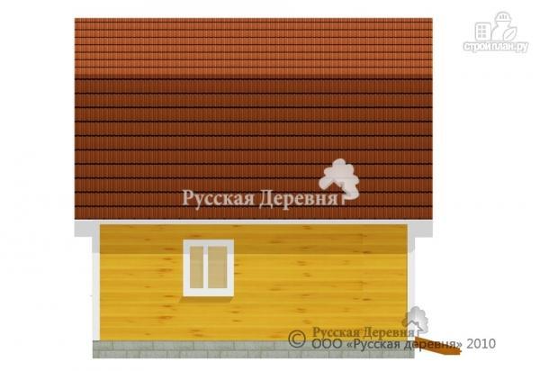 Фото 3: проект четырехкомнатный мансардный дом с верандой 3х5,5 и крыльцом 3х1,5