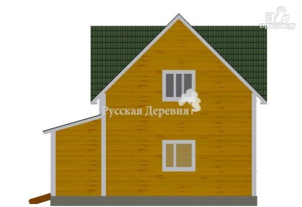 Фото 5: проект четырехфронтонный эркерный дом с крылечком