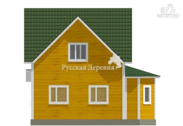 Фото 4: проект четырехфронтонный эркерный дом с крылечком