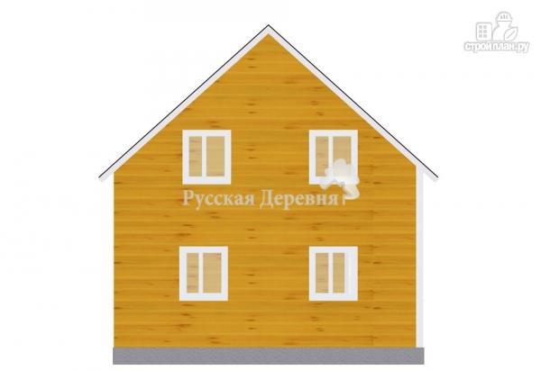 Фото 3: проект дом 7х6 из бруса 100х150 мм естественной влажности