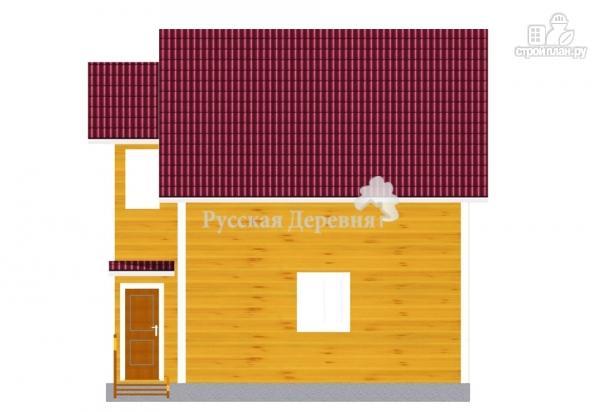 Фото 4: проект дом 7х6 из бруса 100х150 мм естественной влажности