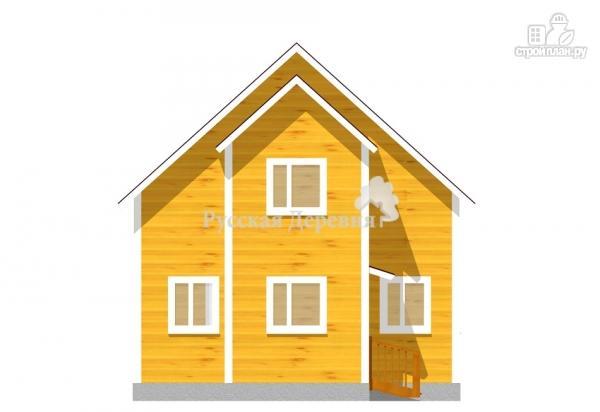 Фото 2: проект дом 7х6 из бруса 100х150 мм естественной влажности