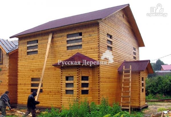 Фото 5: проект двухэтажный дом с двумя эркерами