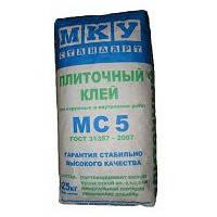 Плиточный клей МКУ «Стандарт МС5» напрямую с завода