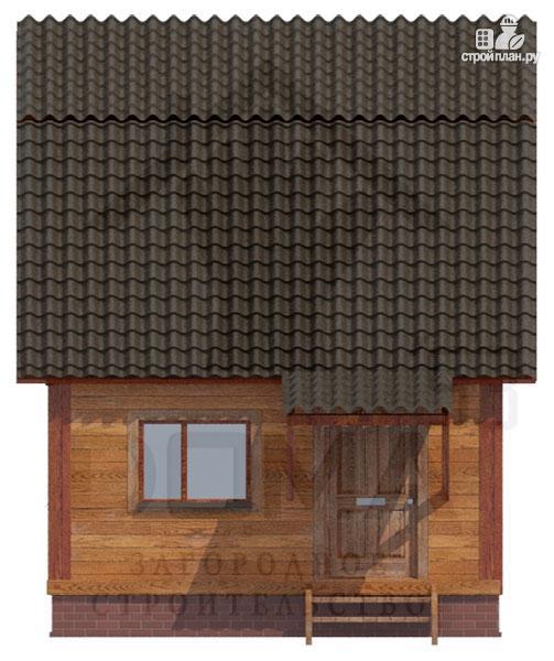 Фото 3: проект дом из бруса 4х5, без крыльца