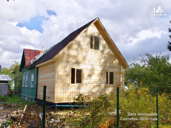 Фото 6: проект деревянный дом с мансардной спальной