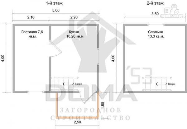 Фото 6: проект уютный дачный домик 4х5