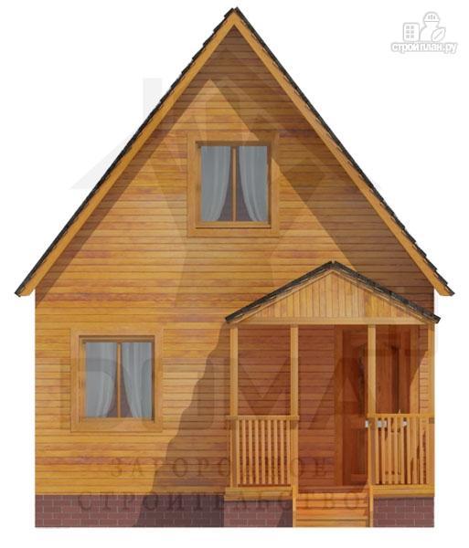 Фото 2: проект уютный дачный домик 4х5