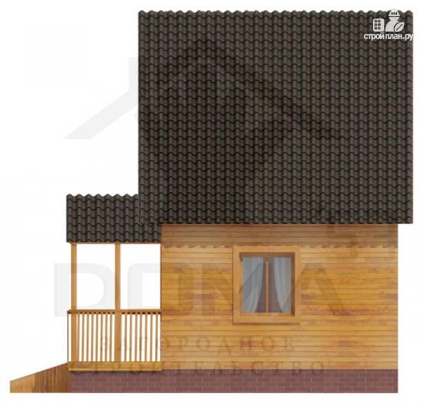 Фото 3: проект уютный дачный домик 4х5
