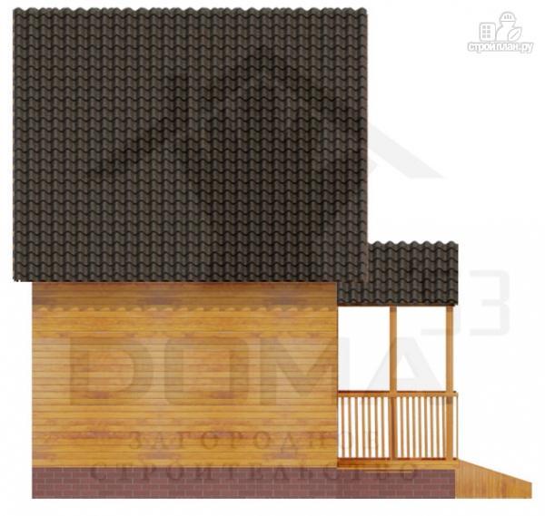 Фото 5: проект уютный дачный домик 4х5