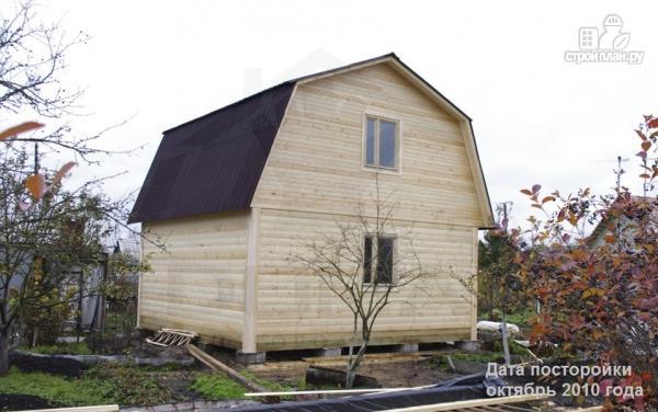 Фото 7: проект дачный дом 6х6 из профилированного бруса