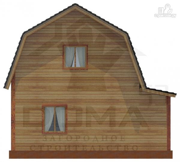 Фото 4: проект деревянный дом с крыльцом