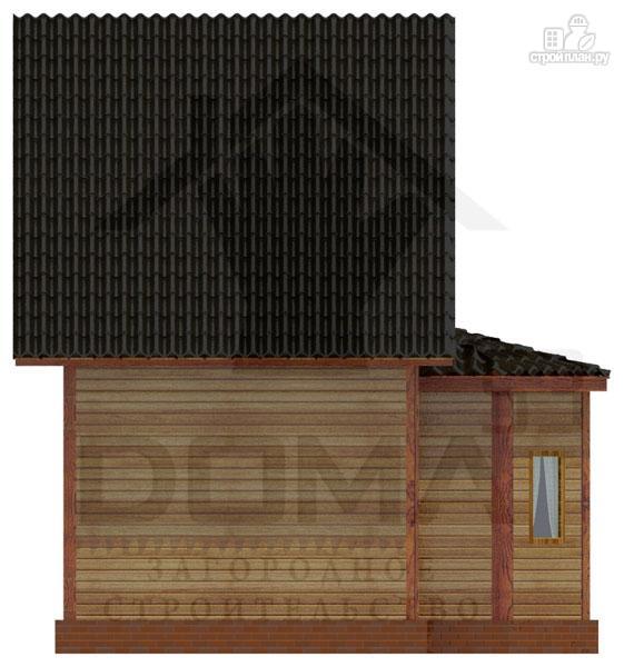 Фото 5: проект деревянный дом с эркером и мансардным этажом