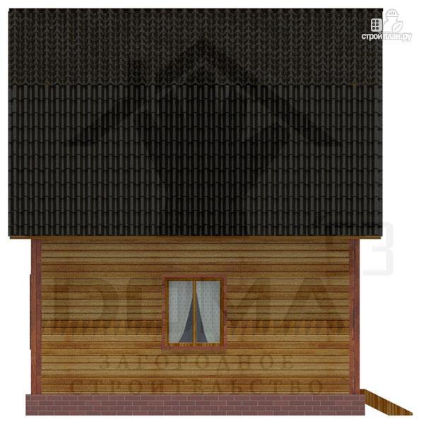 Фото 5: проект деревянный дачный дом на три спальни