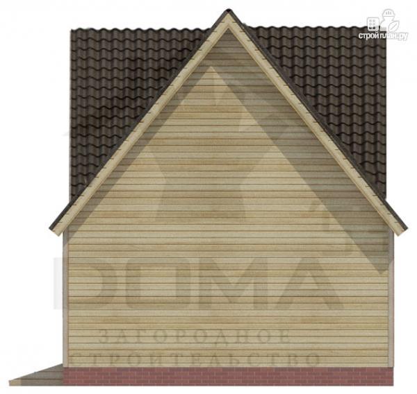Фото 4: проект деревянный дом 6х6 с эркером