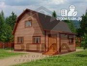 Проект дом с четыремя спальнями