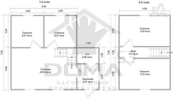 Фото 6: проект дом с четыремя спальнями