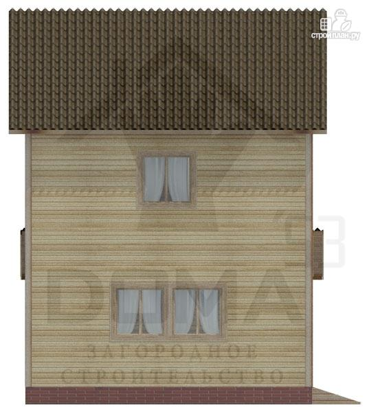 Фото 5: проект двухэтажный деревянный дом 6х8