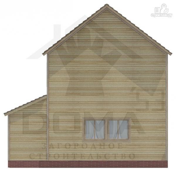 Фото 4: проект двухэтажный деревянный дом 6х8