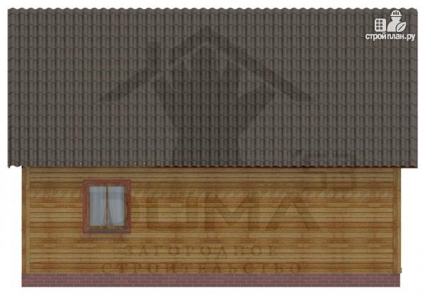 Фото 5: проект деревянный дом 8х9 с мансардным этажом