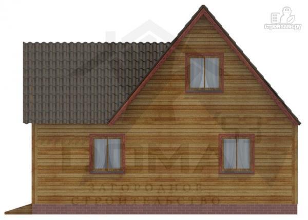 Фото 4: проект деревянный дом 8х9 с мансардным этажом