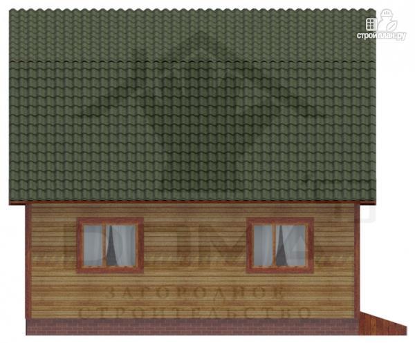 Фото 5: проект деревянный дом 7х9 с верандой
