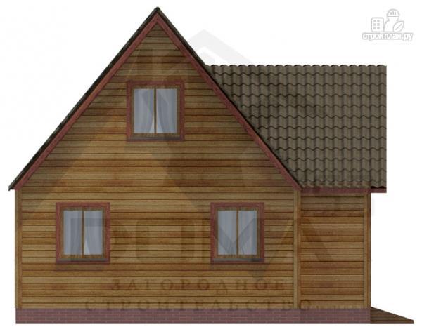 Фото 2: проект дом из профилированного бруса