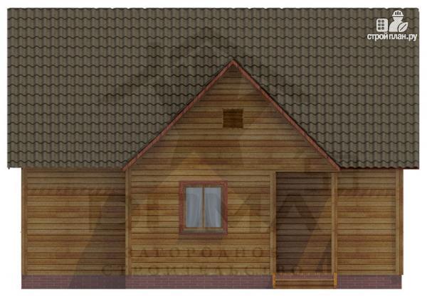Фото 3: проект дом из профилированного бруса