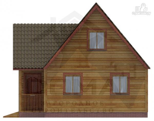 Фото 4: проект дом из профилированного бруса