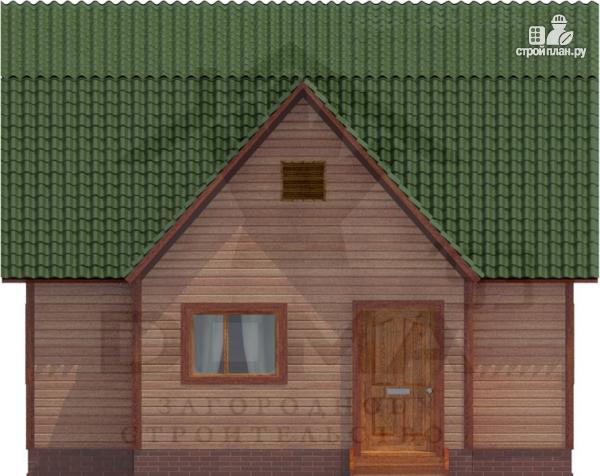 Фото 3: проект двухэтажный дом из профилированного бруса