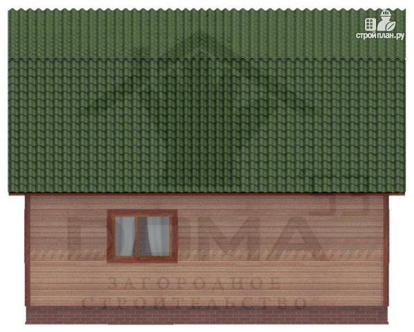 Фото 5: проект двухэтажный дом из профилированного бруса