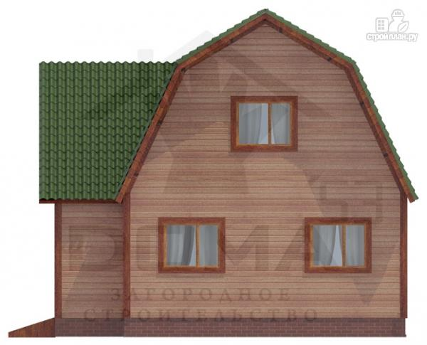 Фото 4: проект двухэтажный дом из профилированного бруса