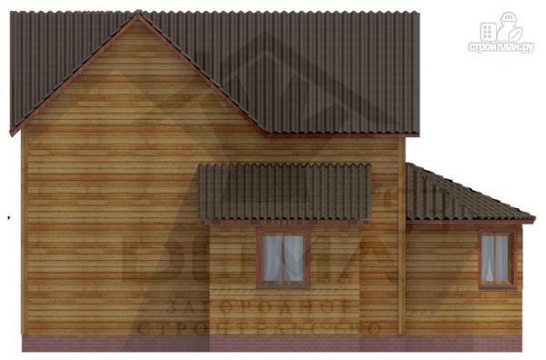 Фото 5: проект деревянный дом с эркером