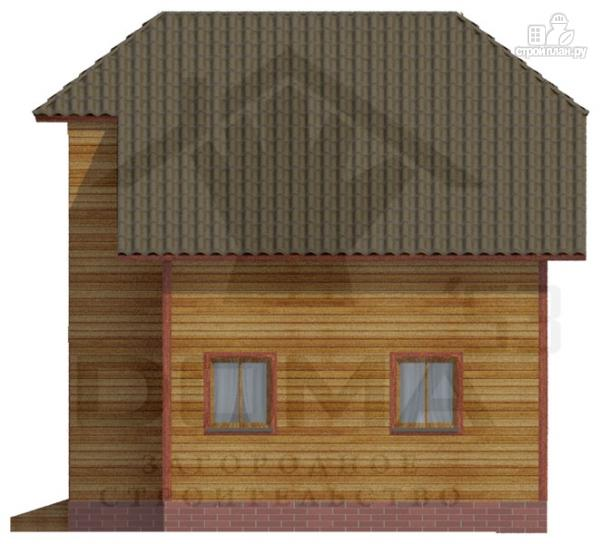 Фото 5: проект дом из профилированного бруса
