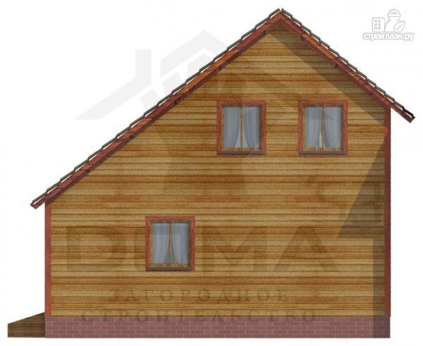 Фото 4: проект деревянный дом с двумя спальнями