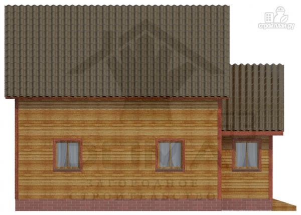 Фото 5: проект деревянный дом 6х9 из профилированного бруса