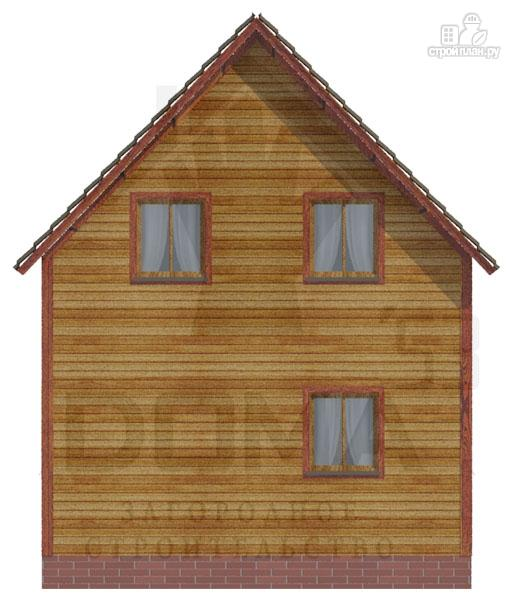 Фото 4: проект деревянный дом 6х9 из профилированного бруса