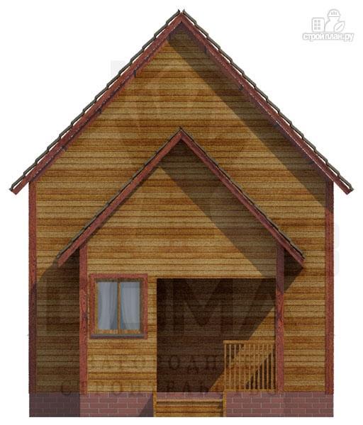 Фото 2: проект деревянный дом 6х9 из профилированного бруса