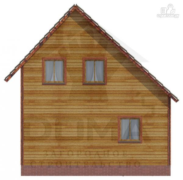 Фото 4: проект деревянный дом со светлыми и просторными комнатами