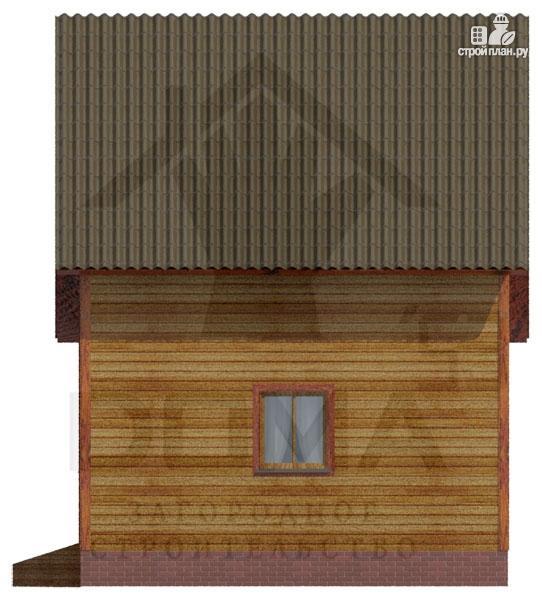 Фото 3: проект деревянный дом со светлыми и просторными комнатами