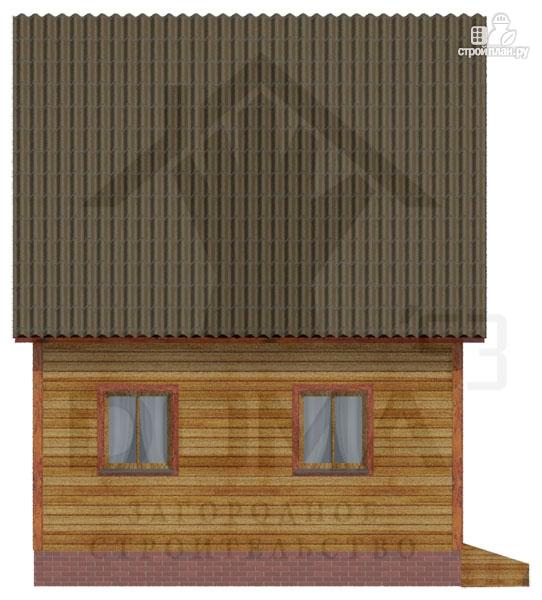 Фото 5: проект деревянный дом со светлыми и просторными комнатами