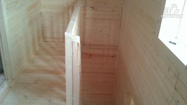 Фото 13: проект деревянный дом со столовой в эркере