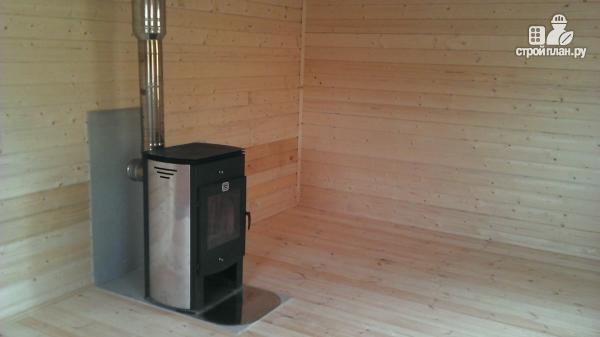 Фото 10: проект деревянный дом со столовой в эркере