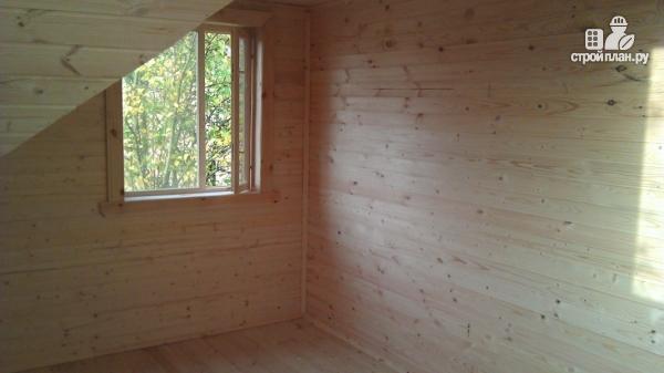 Фото 15: проект деревянный дом со столовой в эркере