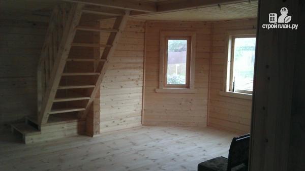 Фото 17: проект деревянный дом со столовой в эркере